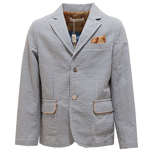 Cotone Martini Alviero Bimbo Kid Classe 1a bianco 6978t Giacca Jacket Blu SdqCY