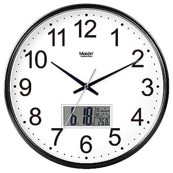 Reloj de Pared para Cualquier habitación, Moderno y Nuevo Reloj de Pared Reloj precisa para