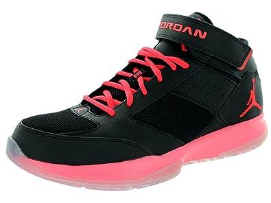 af5fd638ae5 Jordan BCT Mid 2 Men's Basketball Shoes Black/Infrared 616362-023 (12 D