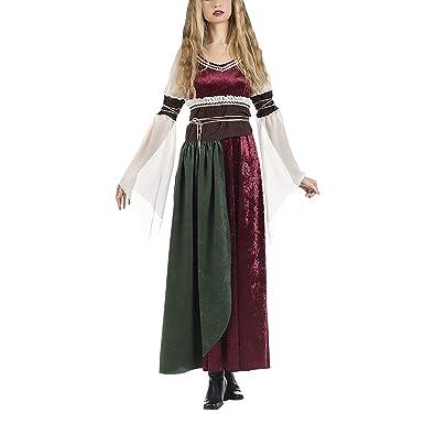 Traje Medieval para Las Mujeres se Visten con la Banda de ...