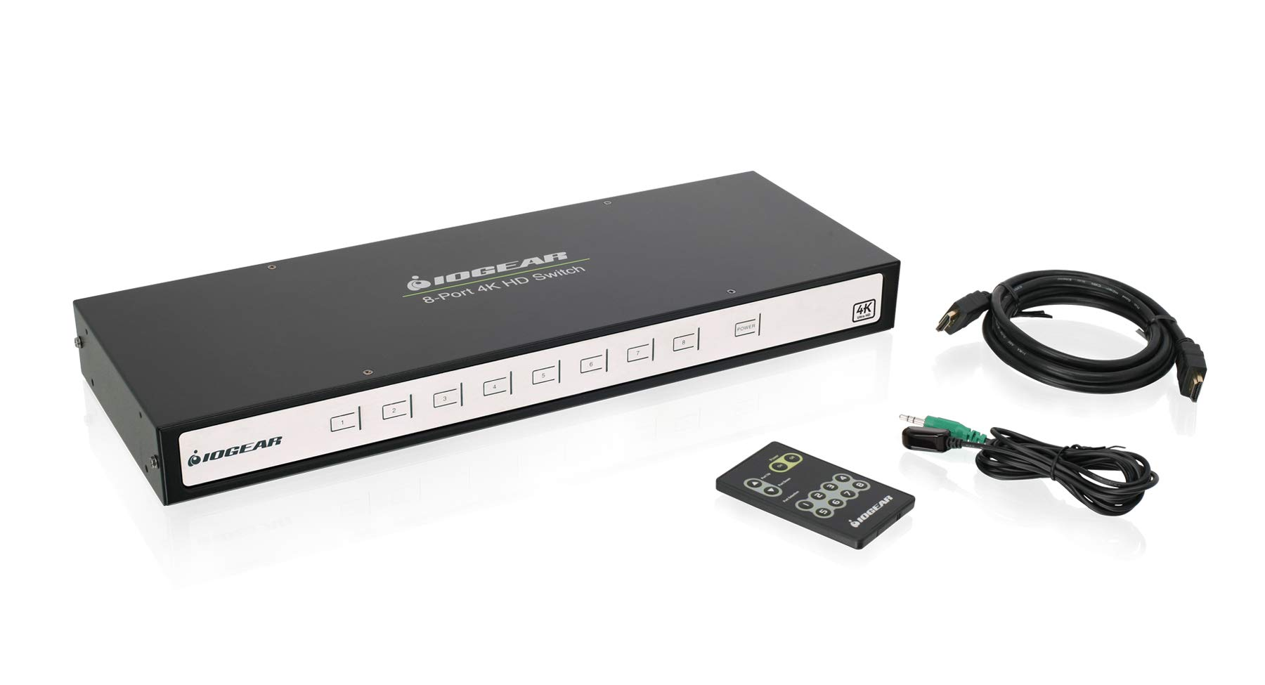 IOGEAR 4K 8-Port Switcher with HDMI (GHSW8481) by IOGEAR (Image #2)