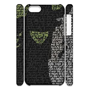 LSQDIY(R) Musical Wicked iPhone 5C 3D Cover Case, DIY iPhone 5C 3D Case Musical Wicked