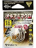 がまかつ(Gamakatsu) バラ A1 フック オキアミマグロ(銀) 18号 釣り針