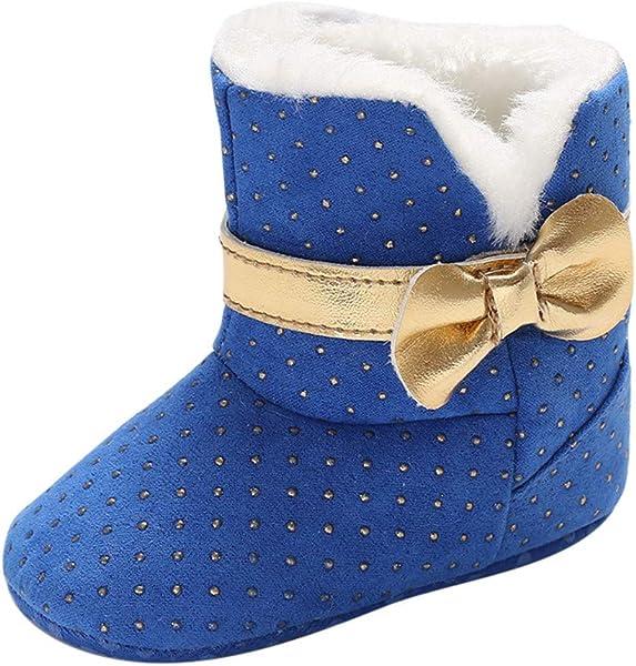 0b08ce3d4bd K-youth Botas de Nieve Niñas Botas Niña Invierno Caliente Botines Zapatos  De Algodón Zapatillas de Deporte Unisex Niños Bautizo Zapatos Bebe Niña  Primeros ...