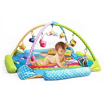Kenmont Gimnasio de juegos con actividades para bebés, Alfombra de ...
