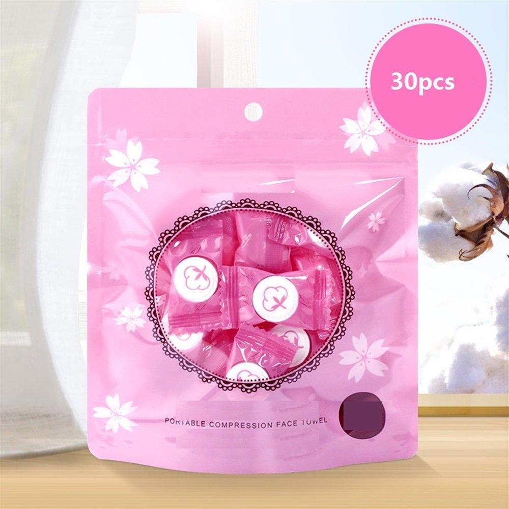 Ari_Mao Einweg Tragbare komprimierte Baumwolle Handtuch Kosmetiktuch für Outdoor Reisen Camping