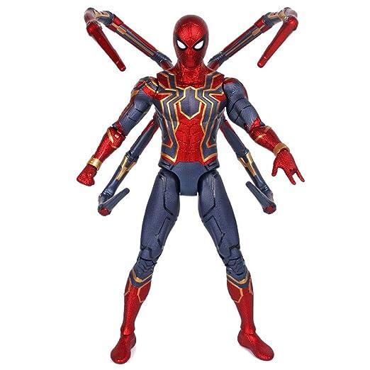 XMGJ Modelo Traje de Batalla de Acero Grande Spider-Man ...