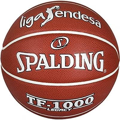 Spalding - Balón baloncesto acb tf 1000 legacy fiba 7: Amazon.es ...