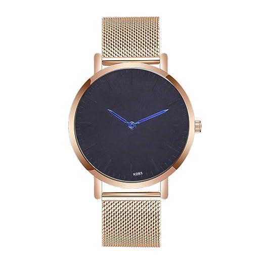 VEHOME Elegante Estilo Minimalista - Reloj para Mujer-Relojes Inteligentes relojero Reloj reloje de Pulsera Marcas Deportivos: Amazon.es: Relojes