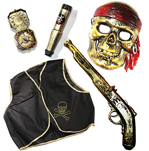 [Joyin Toy Halloween Pirate Toy Costume Accessories Set.] (Ups Package Costume)