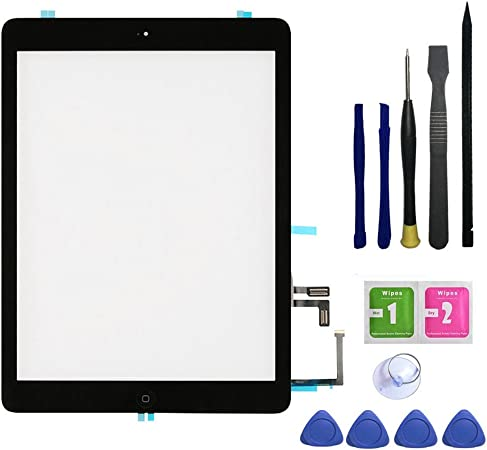 iPad Air 1 1st Generation Touch Screen Digitizer Replacement Glass Black A1474