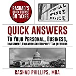Rashad's Quick Course on Taxes | Rashad Phillips MBA