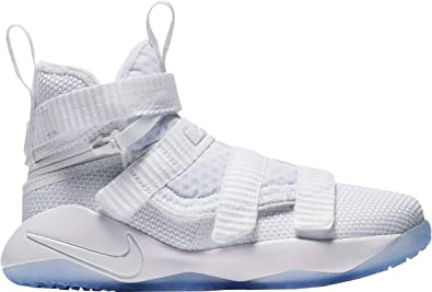 9d6d43ceb7561 Image Unavailable. Image not available for. Color  NIKE Kid s Preschool Lebron  Soldier XI Flyease Basketball Shoes ...