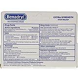 Benadryl Itch Stopping Cream Extra Strength 1 oz