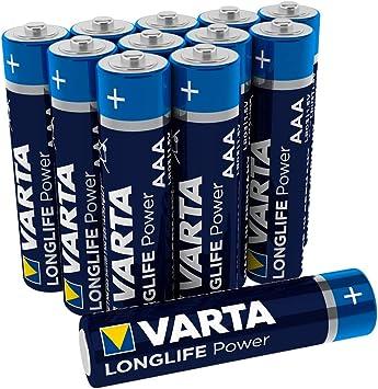 Varta Longlife Power Aaa Micro Lr03 Batterie Alkaline Elektronik