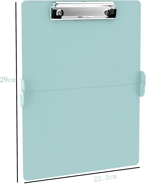 Lightweight Aluminum Nursing Board JEBBLAS Foldable Nurse Clipboard with Generous Storage Ideal Gifts for Nursing Students Nurses and Healthcare Professionals