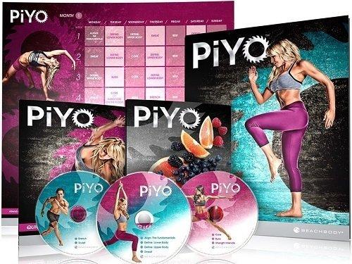 PIYO Workout 5 DVD Deluxe Program Full Set