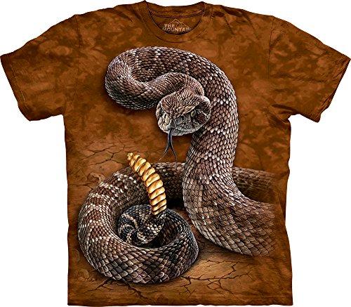 The Mountain Men's Rattlesnake T-Shirt, Rust, ()