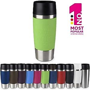 "Emsa Vacuum mug""Travel Mug"" 12.2 fl .oz. in lime, Lime"