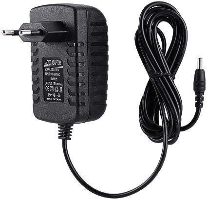 Fuente de alimentación, Adaptador de Corriente Universal Cable de 6.7 pies 21W 15V 1.4A AC/DC Cargador de Adaptador de Fuente de alimentación para Amazon Echo/Fire TV(UE)