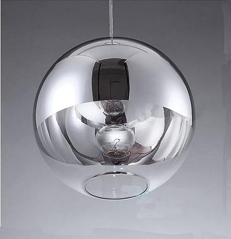petrelking Tom Dixon lámpara de techo plata bola de espejos ...