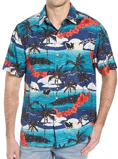 3f4f86db Tommy Bahama Moonlight in Paradise Silk Camp Shirt at Amazon Men's Clothing  store: