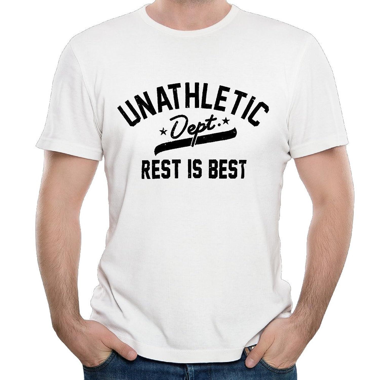 Men's Unathletic Rest Is Best Fashion T-Shirt Tee