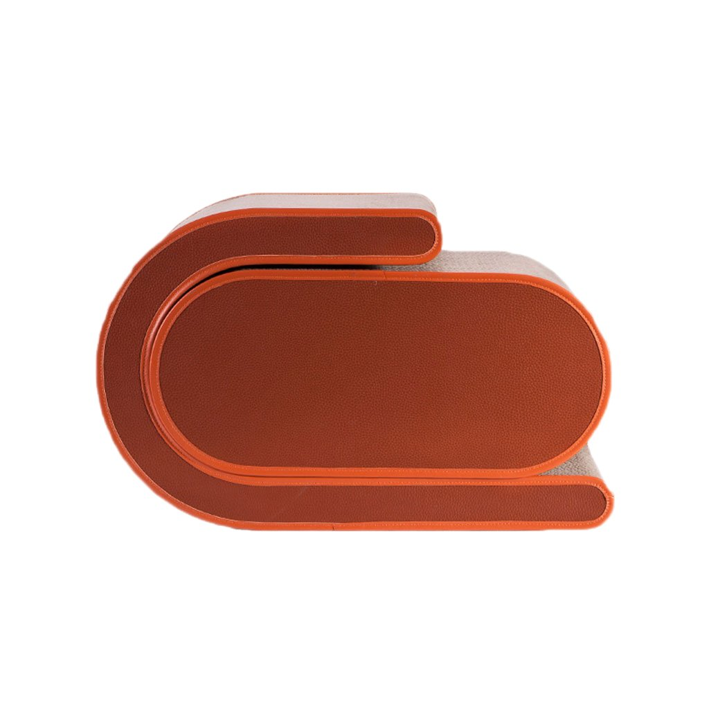 RED Cat Scratch Board, Cat Toys, Pet Cat Supplies, Cat Toys, Corrugated Paper Cat Claw Plate, Wear-resistant, Large, Luxury Furnishings (color   RED)