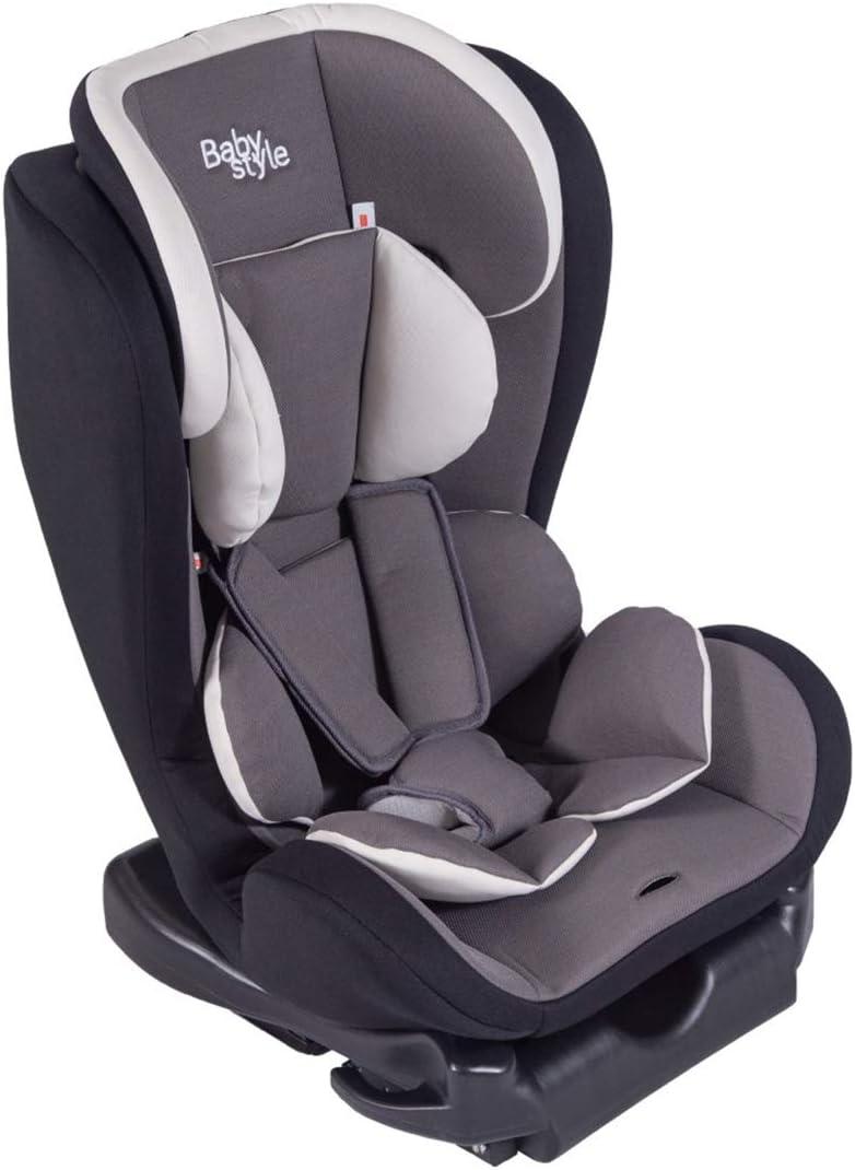 Cadeira Bebê Auto Turbo Isofix Reclinável 0-36kg Baby Style