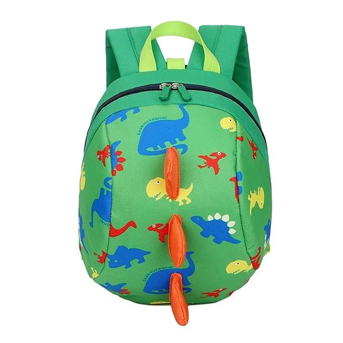 WangWtry Mochila para Niños Pequeños Niños Niñas Mochilas Escolares Dinosaurios Dibujos Animados con Cuerdas de Tracción Sin Pérdidas: Amazon.es: Ropa y ...