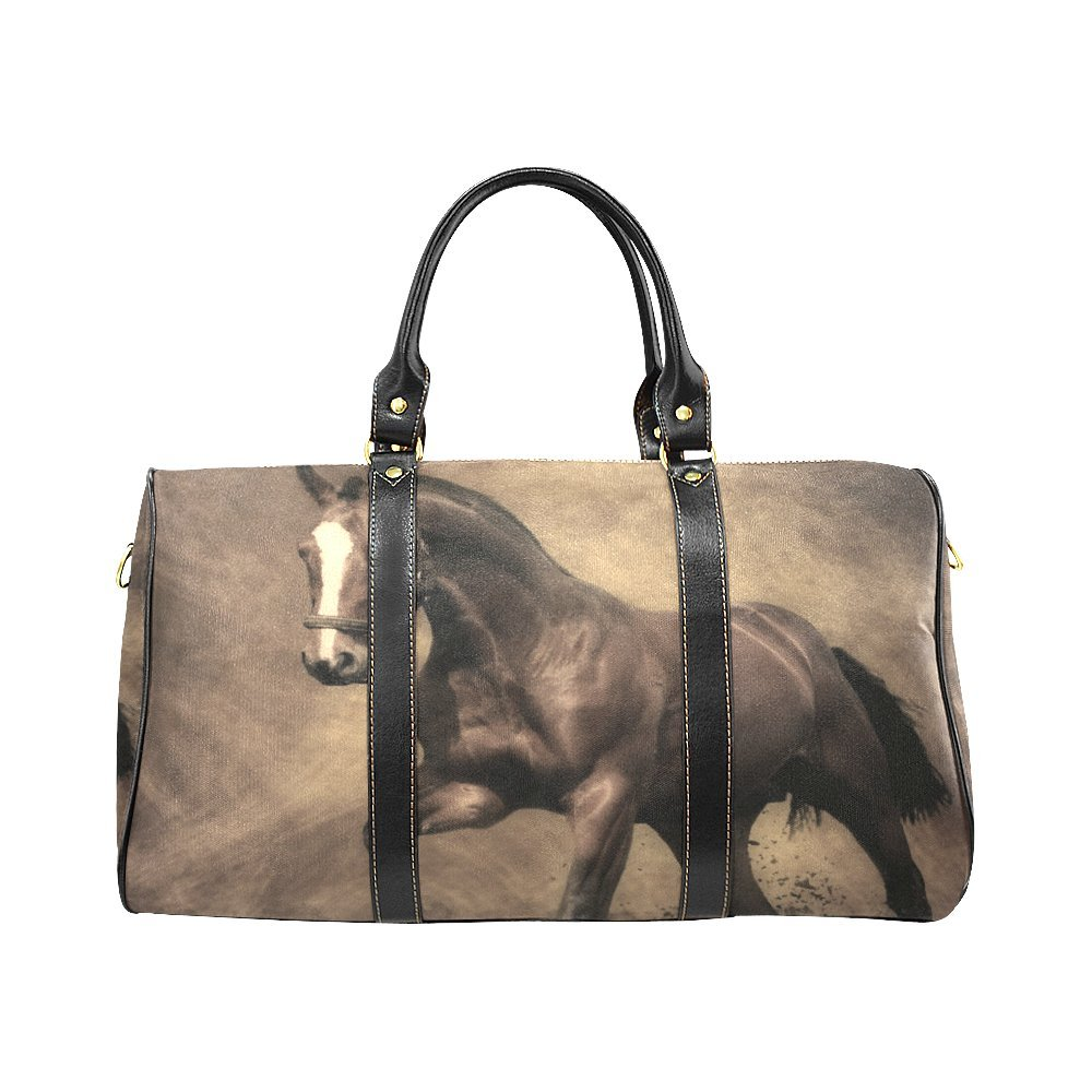 Follow Your Dream Sloth Large Travel Duffel Bag Waterproof Weekend Bag with Strap