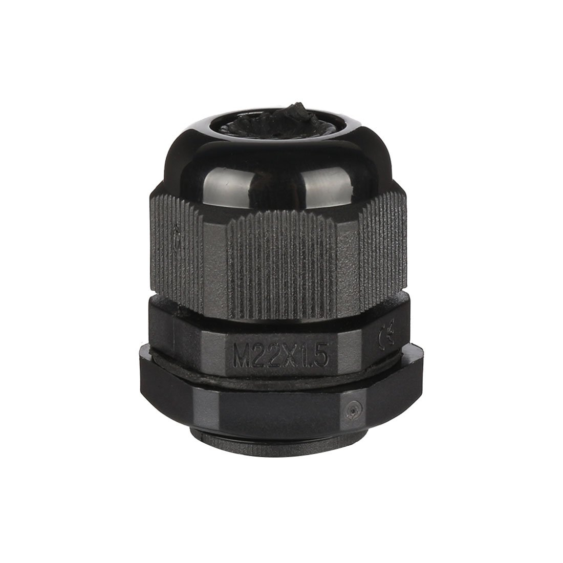 uxcell 20 Pcs M20 Waterproof IP68 Nylon Cable Gland Joint Adjustable Locknut for 6mm-12mm Dia Cable Wire