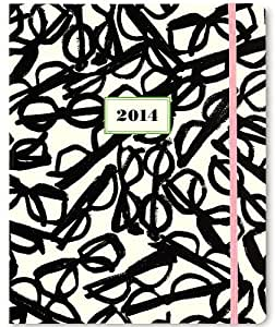 Kate Spade New York 2014 17 Month Agenda - Literary Glasses