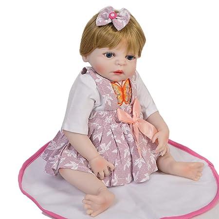 FWBB Reborn bebé Realista Reborn Bebé Linda muñeca 95% Traje ...