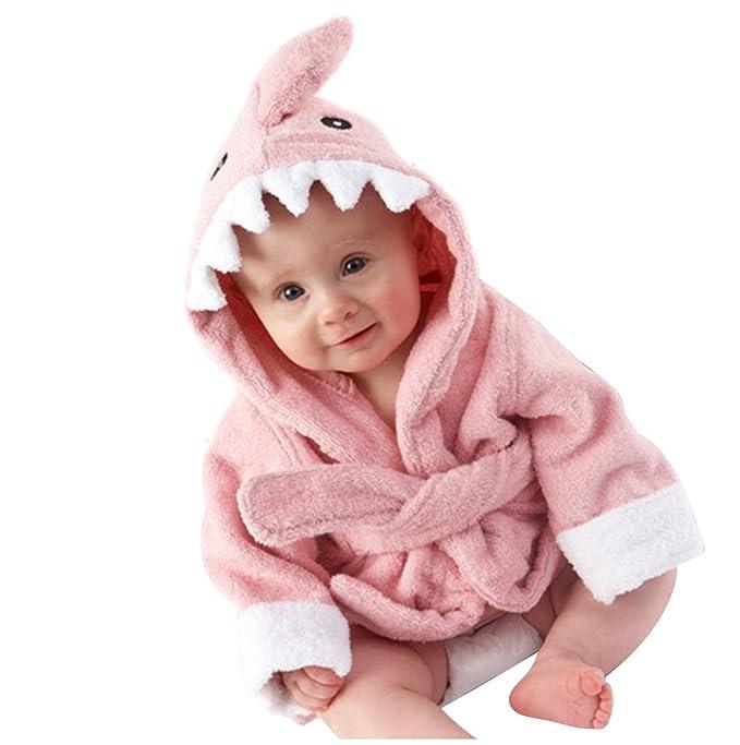 Towels Childrens Towel 2019 Children 100% Cotton Bathrobe Male Baby Girl Spring Animal Hooded Bath Towel Children Cartoon Towel 110cm
