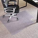 ES Robbins 124386 Everlife Chair Mat 46''x60'' Clear
