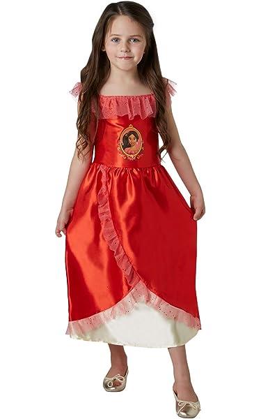 Disney - Disfraz de Elena de Avalor Deluxe para niña, infantil 7-8 ...