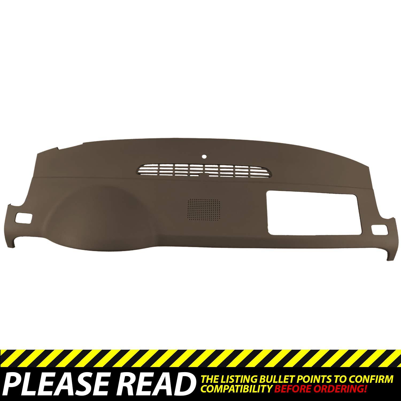 DashSkin Molded Dash Cover Compatible with 07-14 GM SUVs w/Dash Speaker in Cashmere