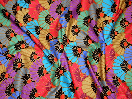 Rowan Kaffe Fassett Spring 2015 Thousand Flowers Poplin Quilting Fabric Dark - per metre ()