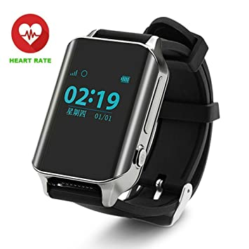 GPS Tracker,Pulsera Inteligente, Pulsera Actividad,GPS Reloj Teléfono, SOS Smart Watch,TKSTAR Reloj GPS Tracker para ancianos GPS pulsera Google Map SOS ...