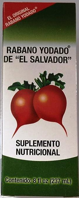 """Rabano Yodado De """"El Salvador"""" 8 oz."""