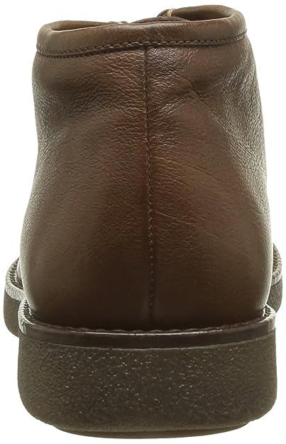 Geox U Essex H-Bufalo U34r4h90c6000 - Zapatos de cuero para hombre, color marrón, talla 40