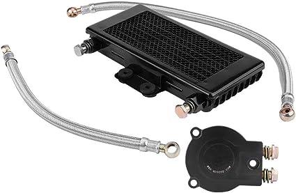 Suuonee - Refrigerador de aceite para motocicleta, 125 ml, kit de ...