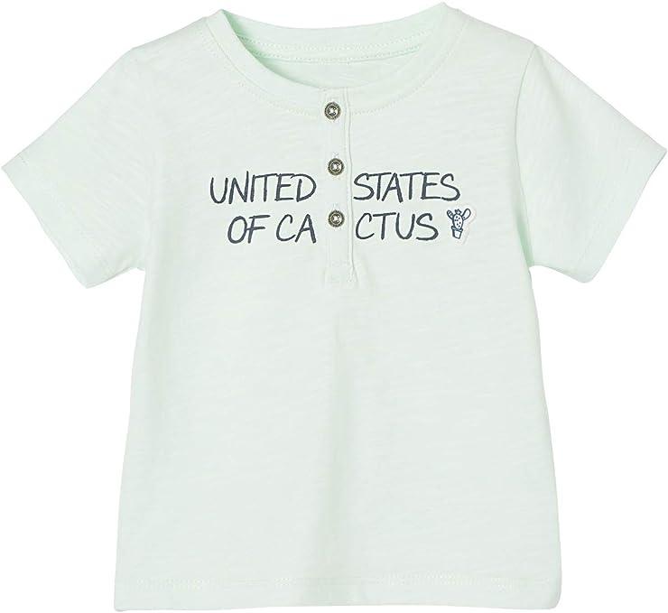 VERTBAUDET Camiseta tunecina para bebé niño con Mensaje de ...