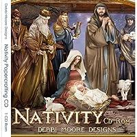 Debbi Moore Nativity Papercrafting CD Rom (321445)