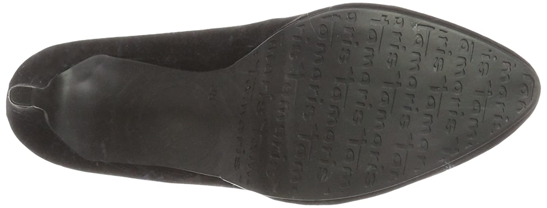 Tamaris Damen 22446 Schwarz Pumps Schwarz 22446 (schwarz) 61b07b