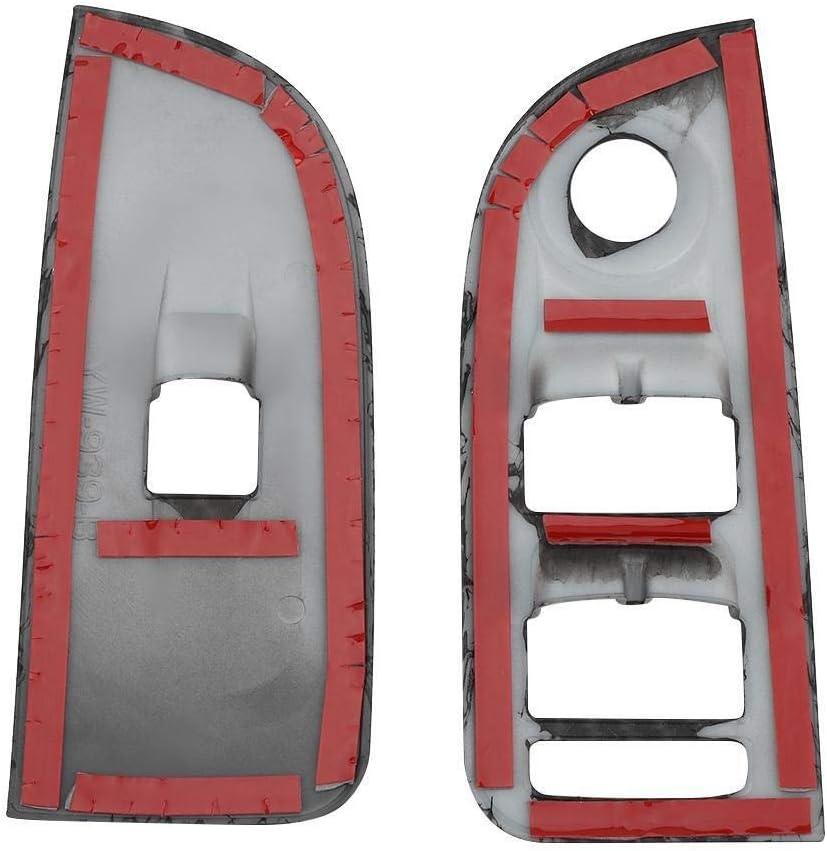 Broco Interior del coche Interior ventana de control de interruptor de elevaci/ón de la cubierta de ajuste de Alfa Romeo Giulia