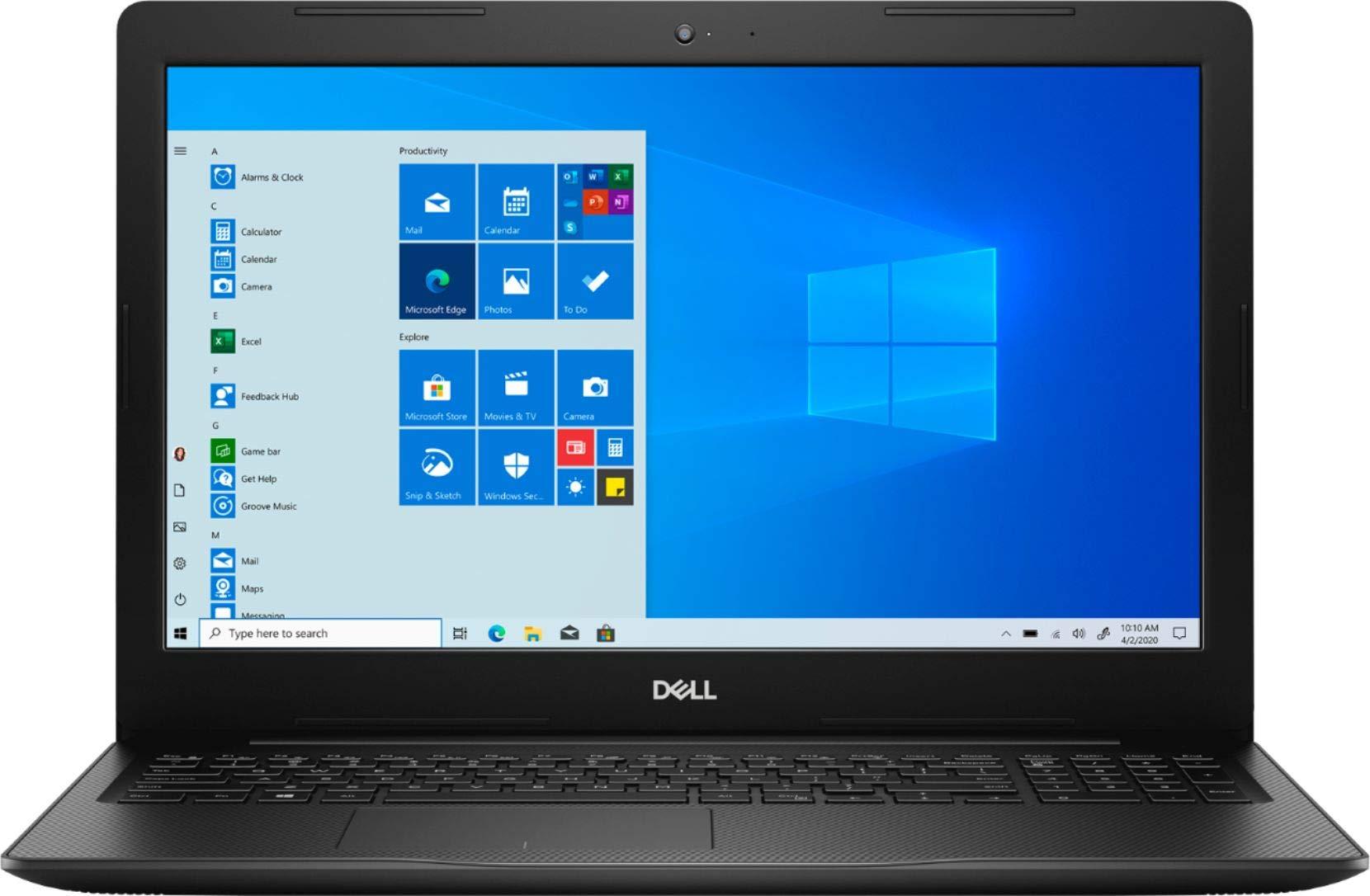 Newest Dell Inspiron 15.6 HD Touchscreen Premium Laptop | 10th Gen Intel Quad-Core i7-1065G7 | 16GB RAM | 1TB SSD | Card Reader | HDMI | Windows 10 in S Mode