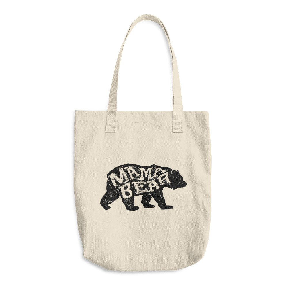 Mama Bear Tote Bag, Mamabear Bag, Diaper Bag, Gifts for New Moms by General Republic