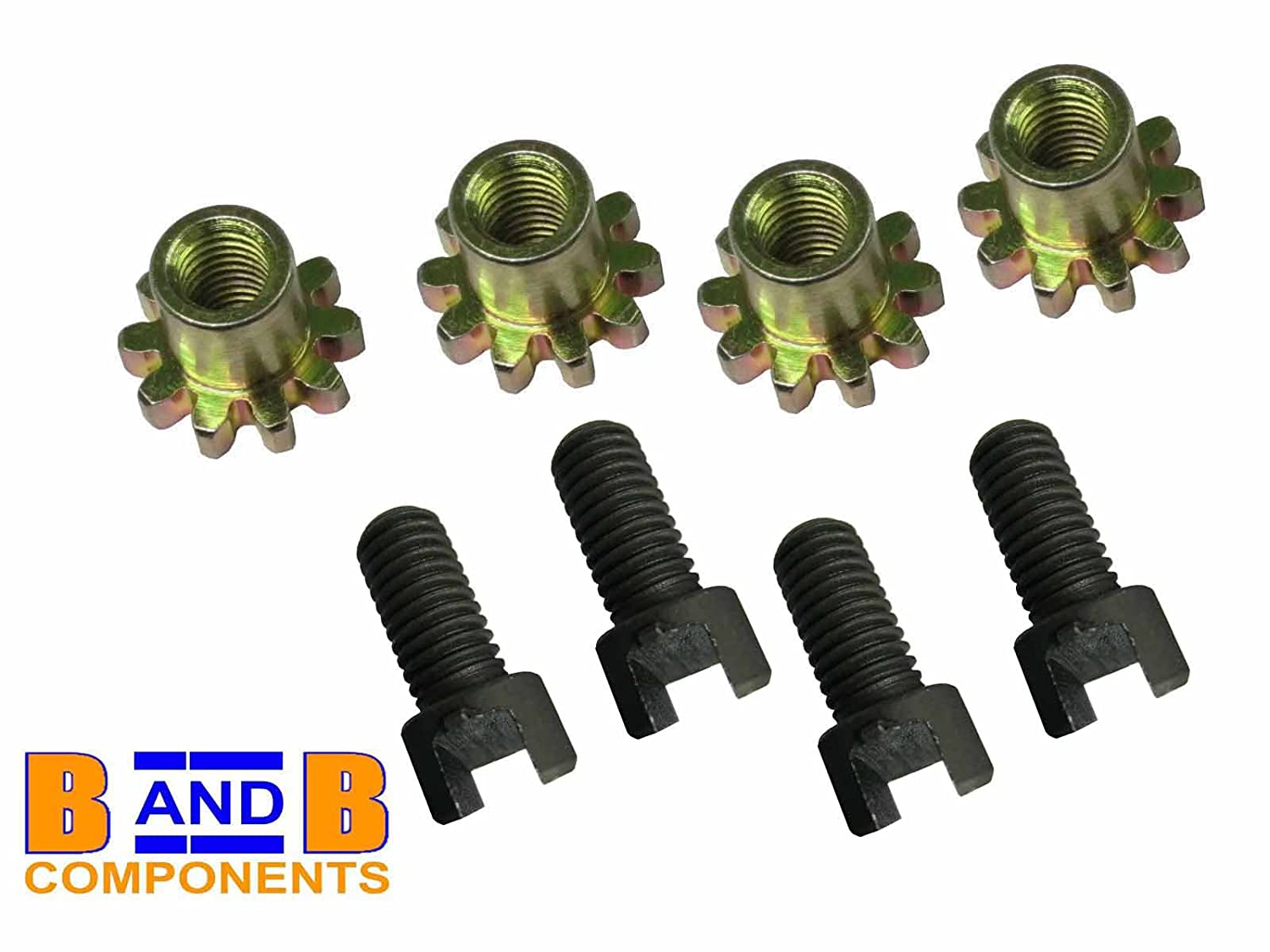 STAR x 4 FOR T1 BEETLE BUG A846 JP GROUP FRONT OR REAR BRAKE SHOE ADJUSTERS SCREWS